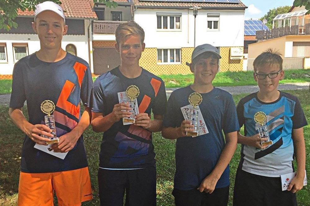Landkreismeisterschaft18 Sieger U14 und 16