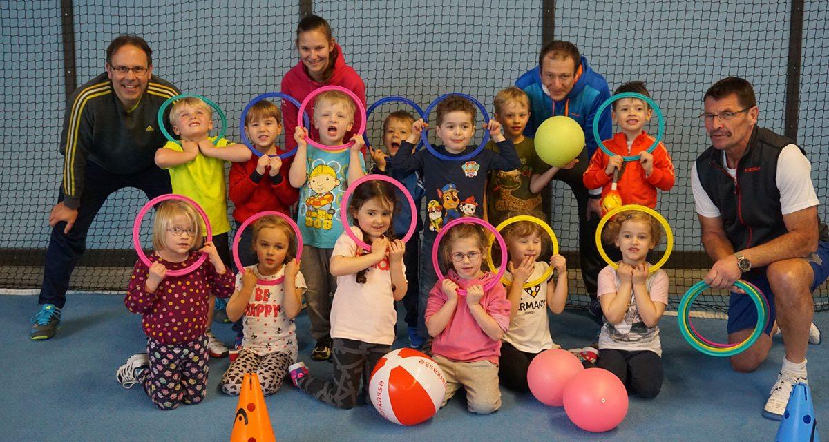 Mini-Ballschule | Tennis lernen beim TC Hengersberg