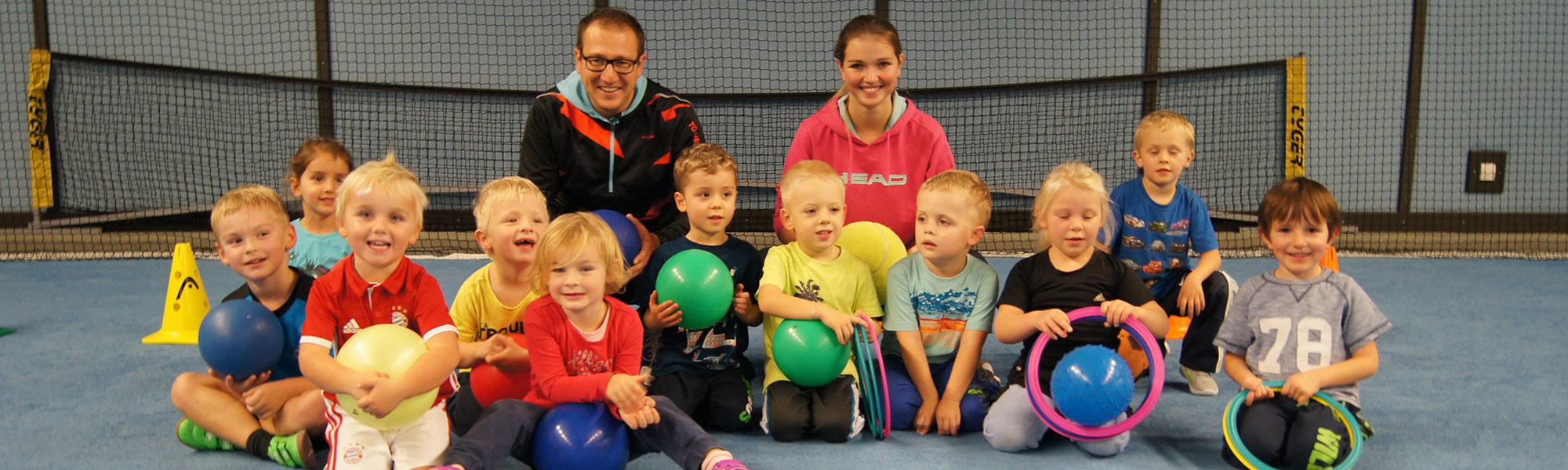 Mini-Ballschule des TC Hengersberg