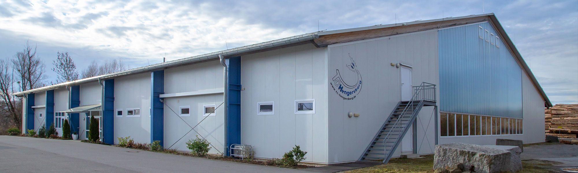 Tennishalle TC Hengersberg - Außenansicht