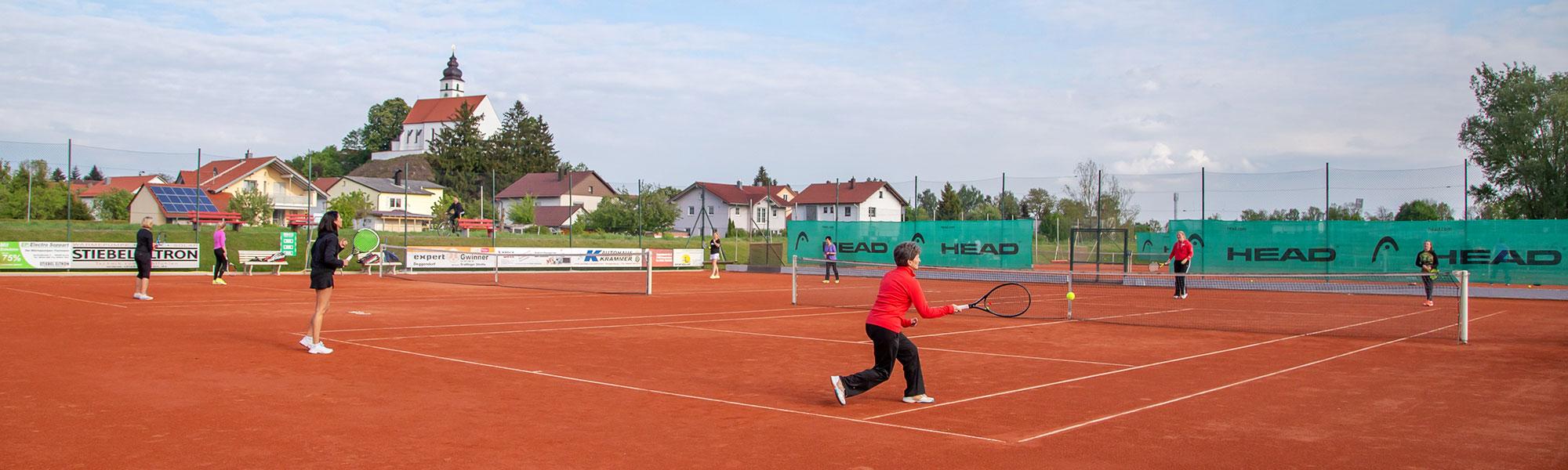 Freizeitsport - Tennisclub Hengersberg