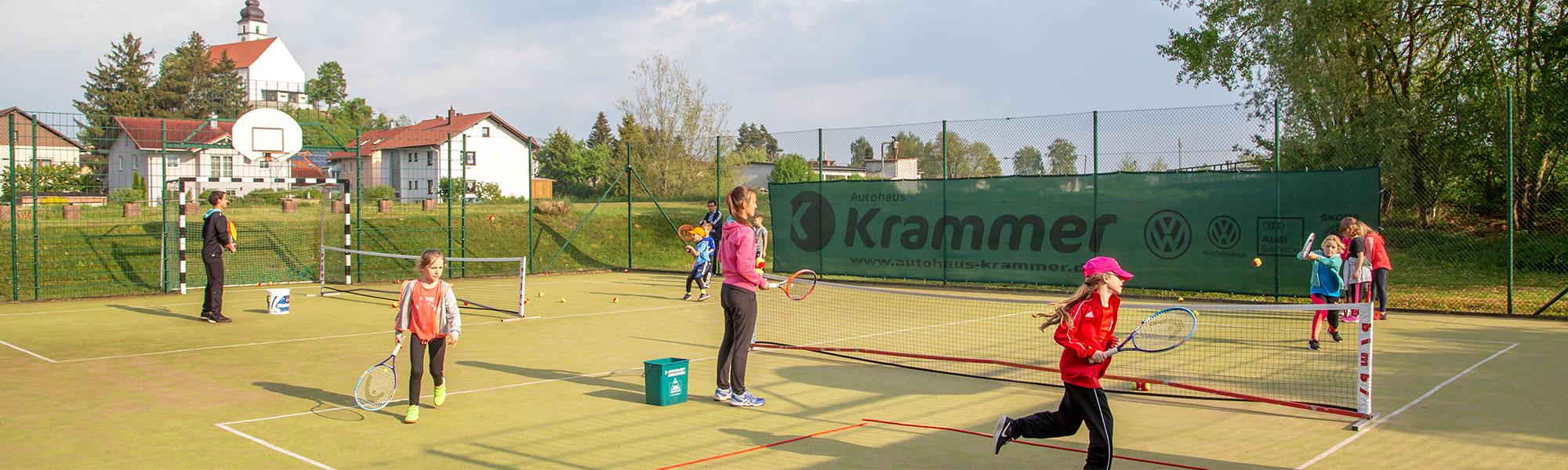 Kleinfeldtennis für Kinder - TC Hengersberg