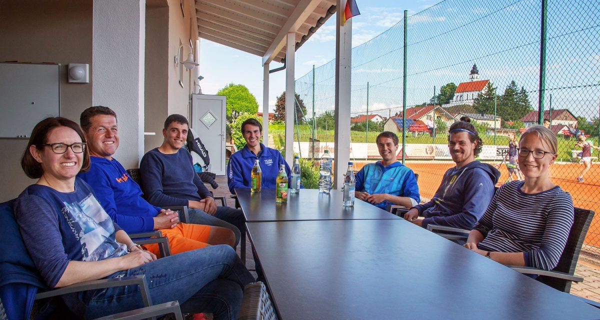 Mitglied werden im Tennisclub Hengersberg