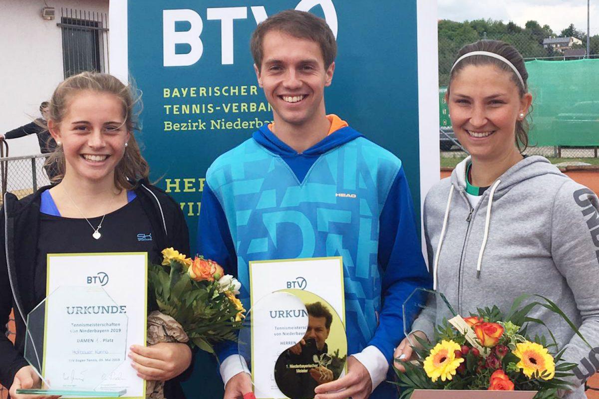 Niederbayerische Tennismeisterschaften der Damen und Herren 2019