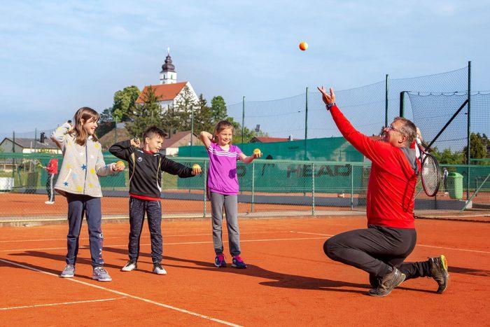 Tennis lernen im Verein TC Hengersberg