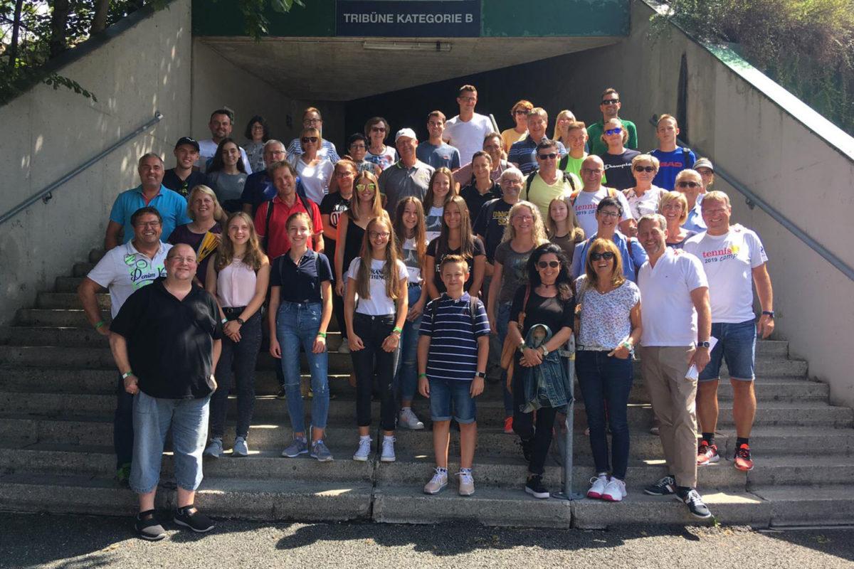 Ausflug zu den Viertelfinalspielen ATP-Turnier in Kitzbühel 2019