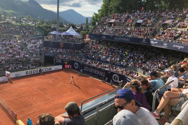 Ausflug zum ATP-Turnier Kitzbühel 2019
