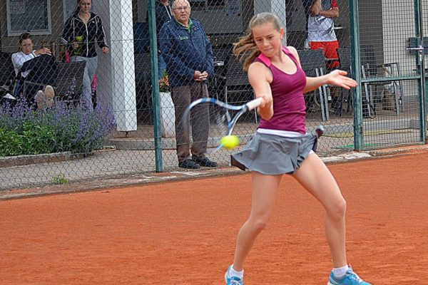 Tolle Spiele bot bisher die 13-jährige Karina Hofbauer in der Landesliga