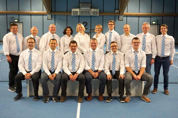 Vorstandschaft TC Hengersberg 2019