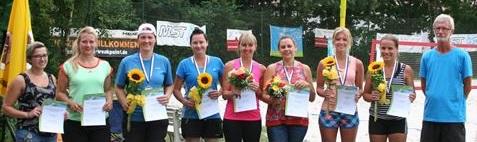 Die besten Damen aus Bayern  - Simone Berger vierte von links