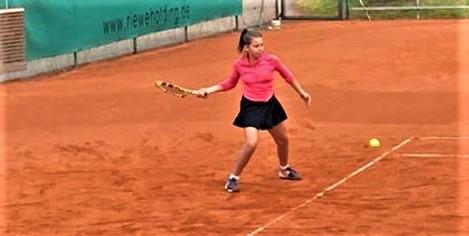 Kristina Wagatha - Niederbayerische Vizemeisterin U14
